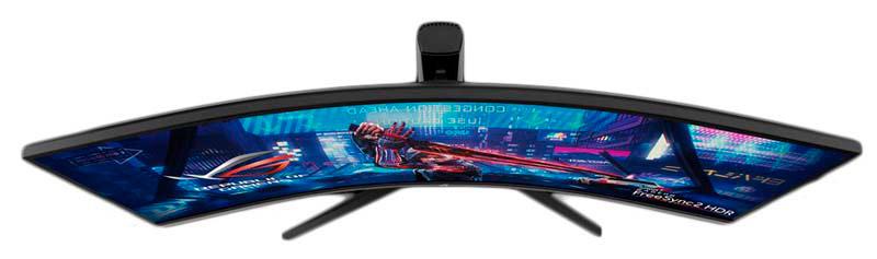 Tipos de curvatura de monitor
