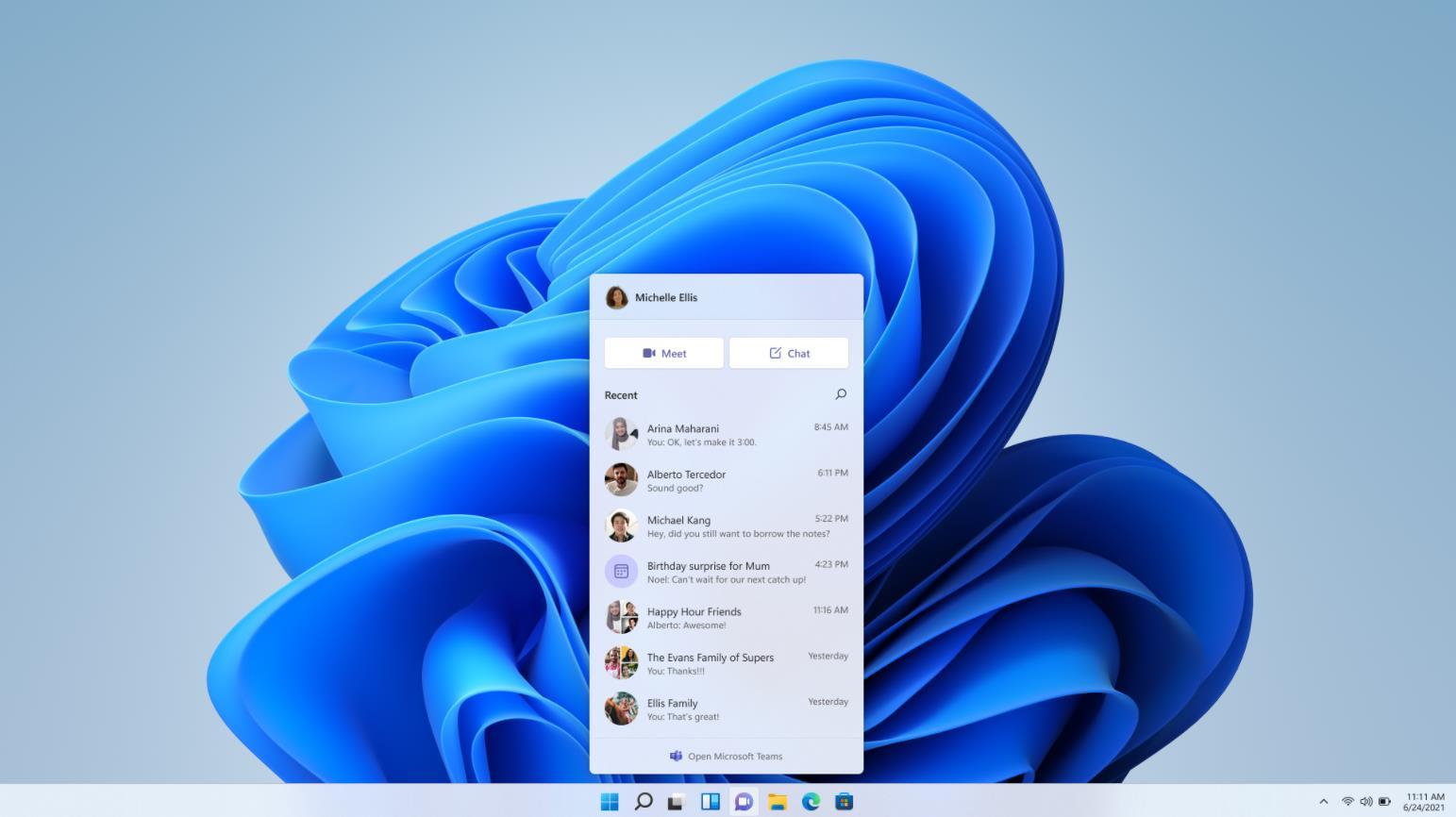 Windows 11 Microsoft Teams
