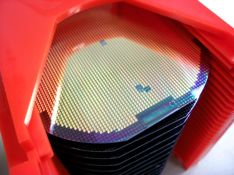 oblea silicio procesador