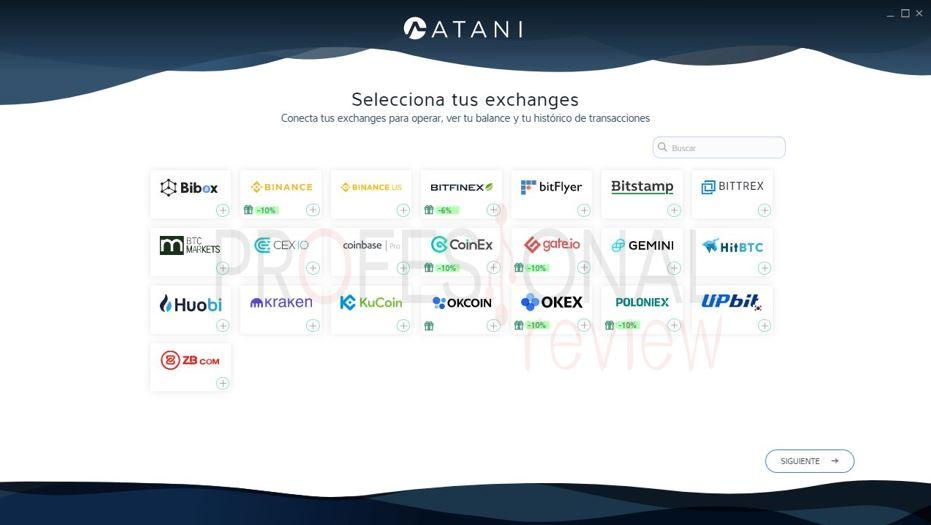 exchange soportadas software