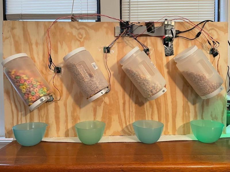 dispensador cereales inteligencia artificial