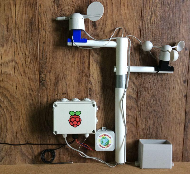 crear raspberry pi estacion climatica