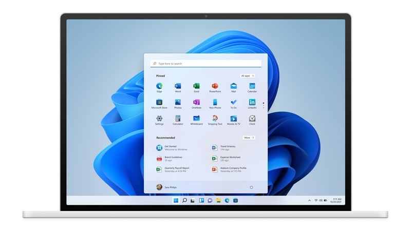 interfaz usuario windows 11