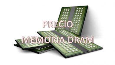 precio memorias dram