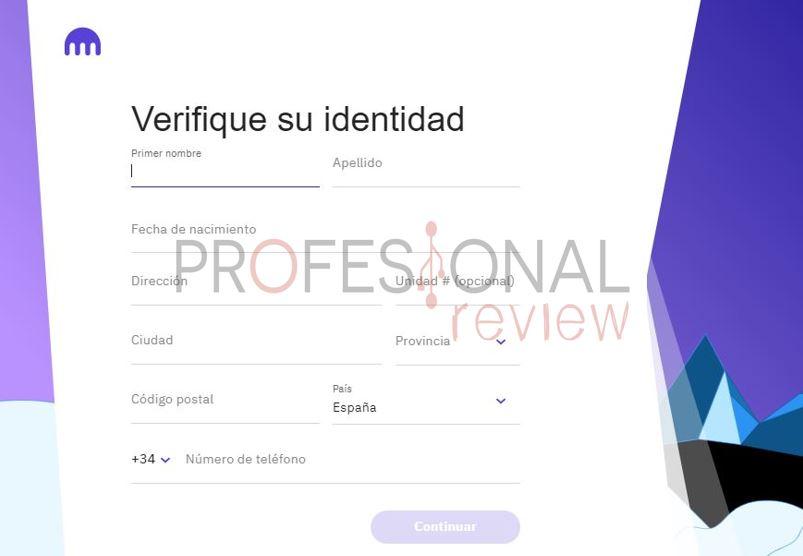 sistema verificacion cuenta basica