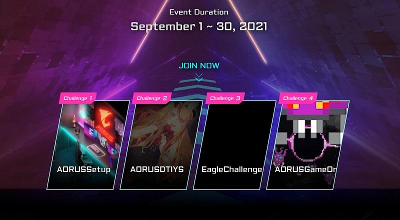AORUS Challenge Mode