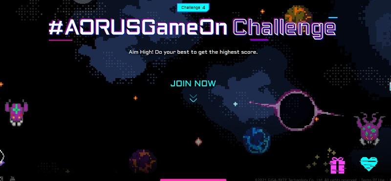 AORUS GameOn Challenge