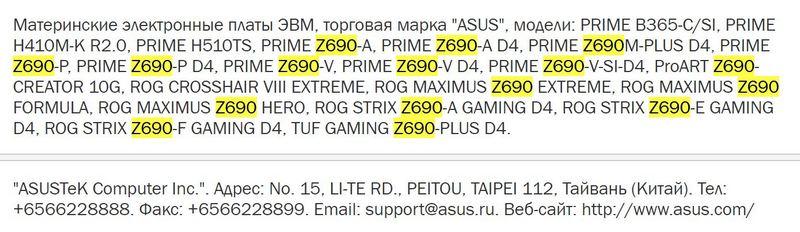 ASUS ROG Maximus Z690