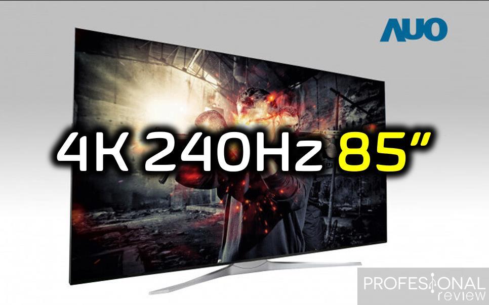 AU Optronics TV Gaming 4k 240 Hz 85