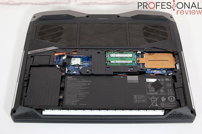 Acer Predator Helios 500 2021 Hardware