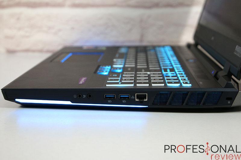 Acer Predator Helios 500 2021 Puertos
