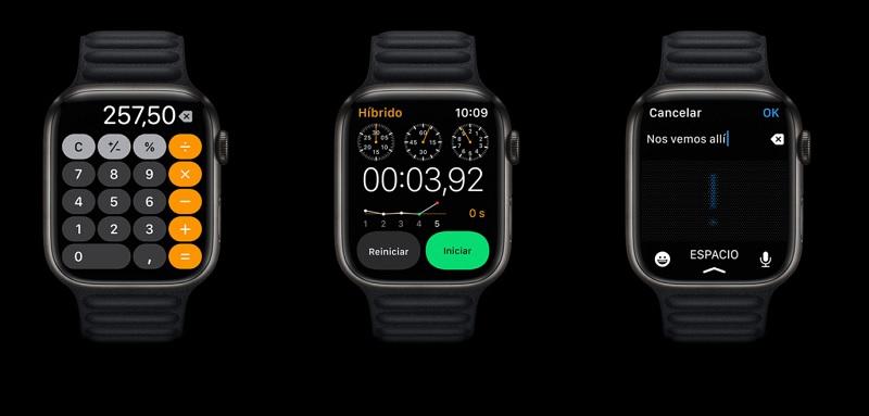 Apple Watch Series 7 diseño