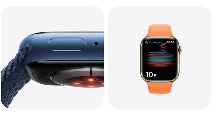 Apple Watch Series 7 funciones salud