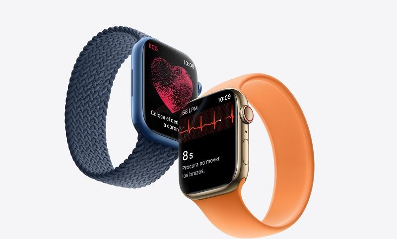 Apple Watch Series 7 versiones