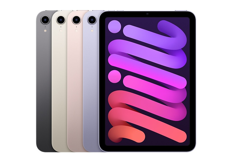 Apple iPad Mini 2021 colores oficiales