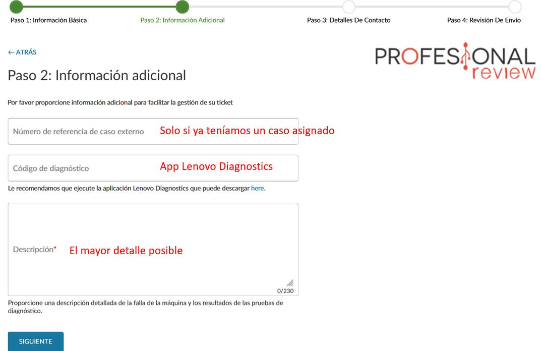 Garantia portatil Lenovo como tramitarla