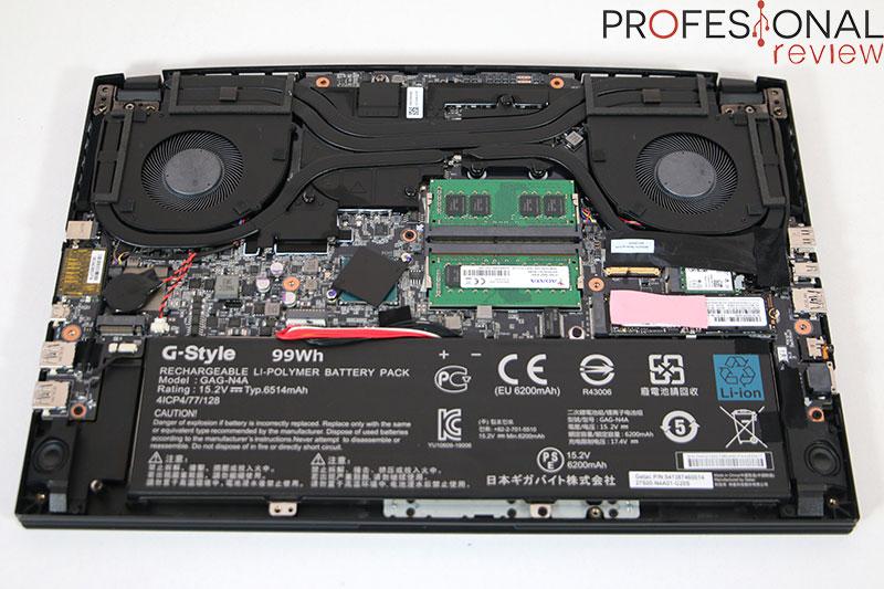 Gigabyte AERO 15 OLED XD Hardware