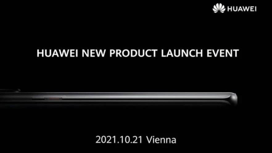 Huawei presentacion octubre Mate 50