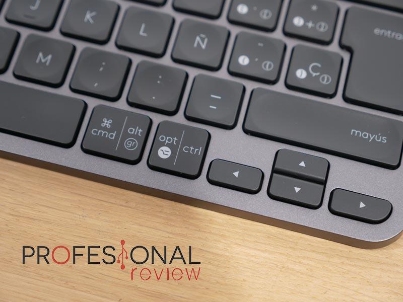 Logitech MX Keys Mini keycaps de bajo perfil