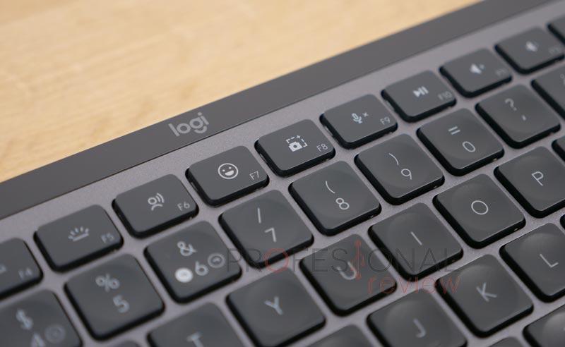 Logitech MX Keys Mini teclas funciones