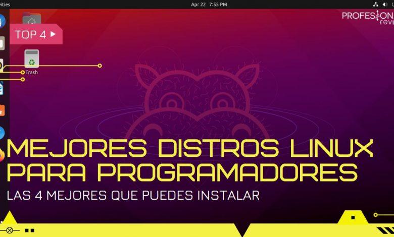 Mejores distribuciones Linux para programadores
