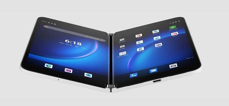 Microsoft Surface Duo 2 diseño