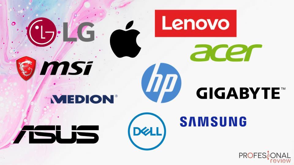 Main laptop brands