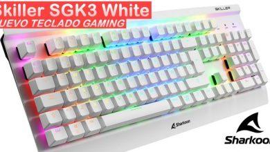 Skiller SGK3 White