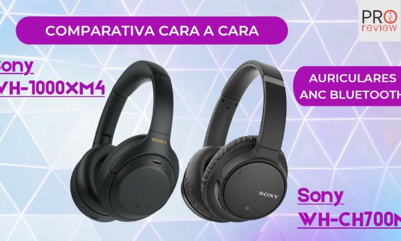 Sony WH-1000XM4 vs Sony WH-CH700N