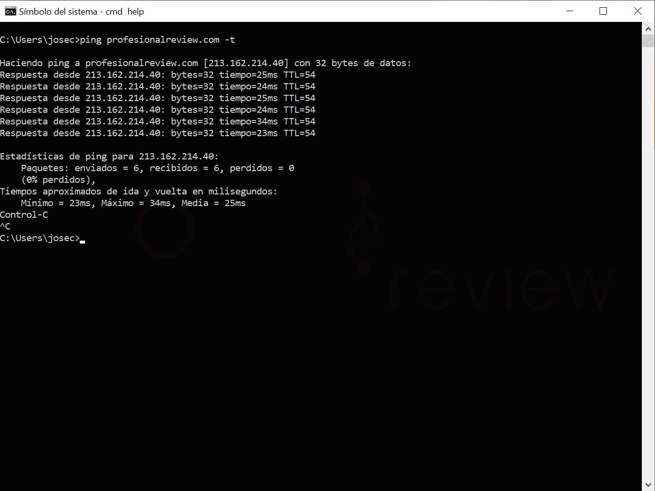 Command terminal step18
