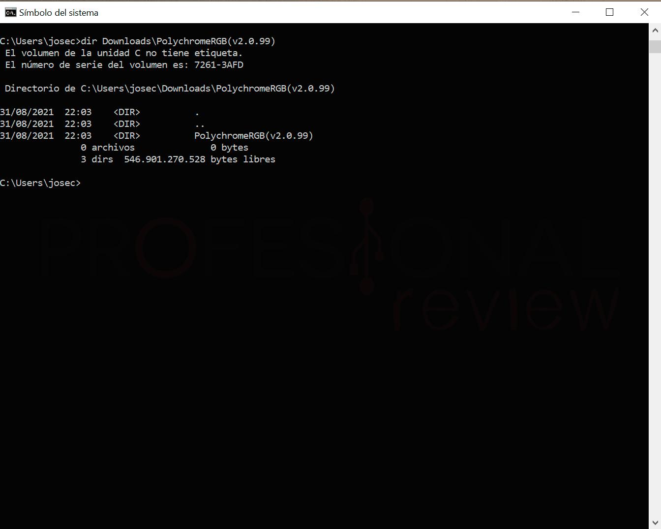 Command terminal step22
