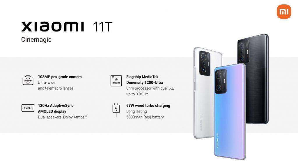 Xiaomi 11T descuento