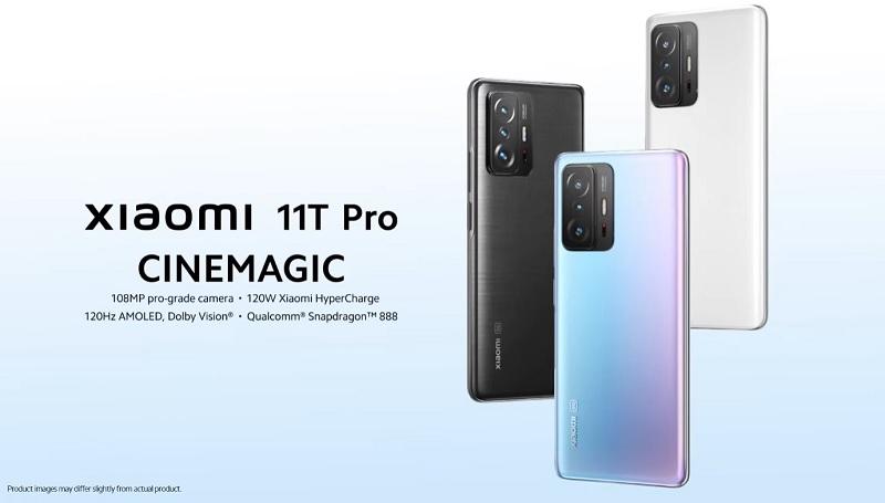 Xiaomi Mi 11T Pro diseño