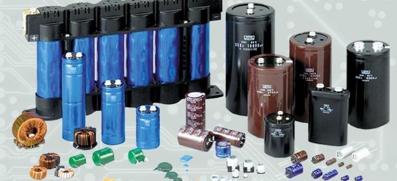 tipos de condensadores de aluminio