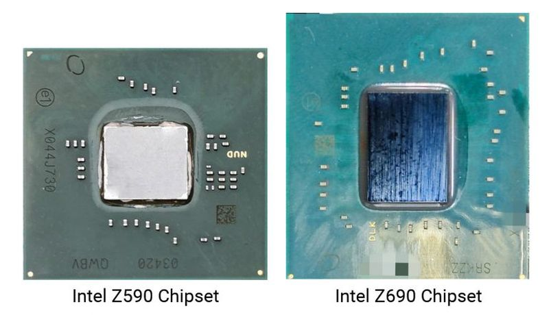diferencia chipset intel