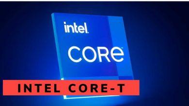 consumo procesador intel core-t