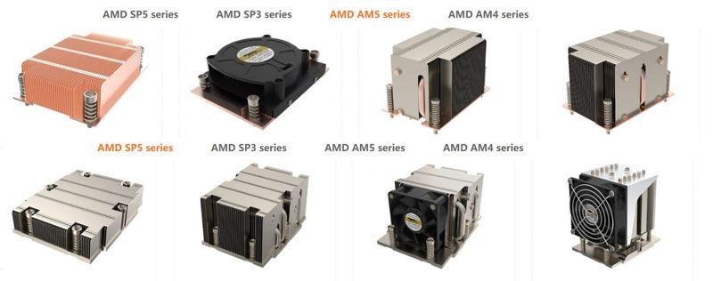 nuevos disipadores procesadores amd