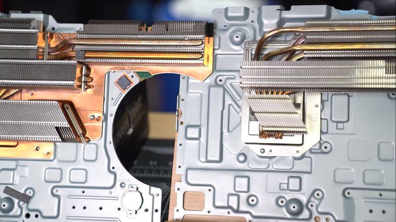 sistema refrigeracion playstation 5
