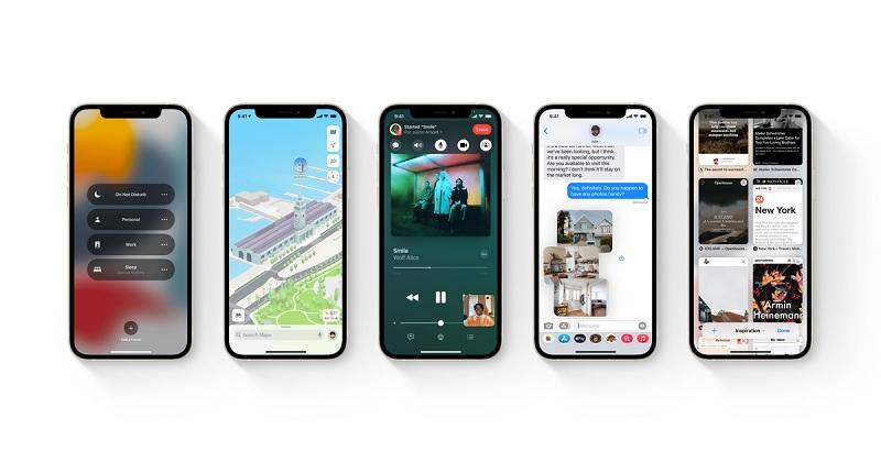 iOS 15 actualizacion