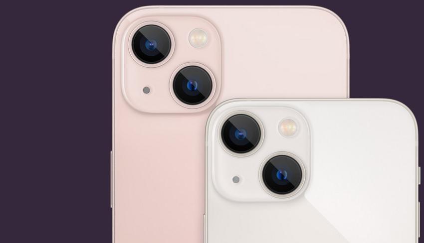 iPhone 13 y 13 Mini camaras