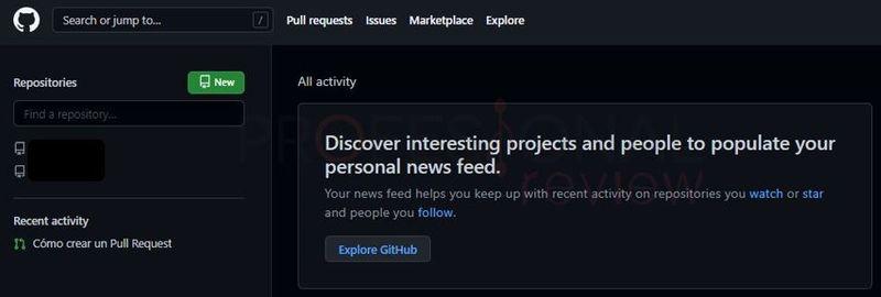 crear nuevo proyecto codigo abierto