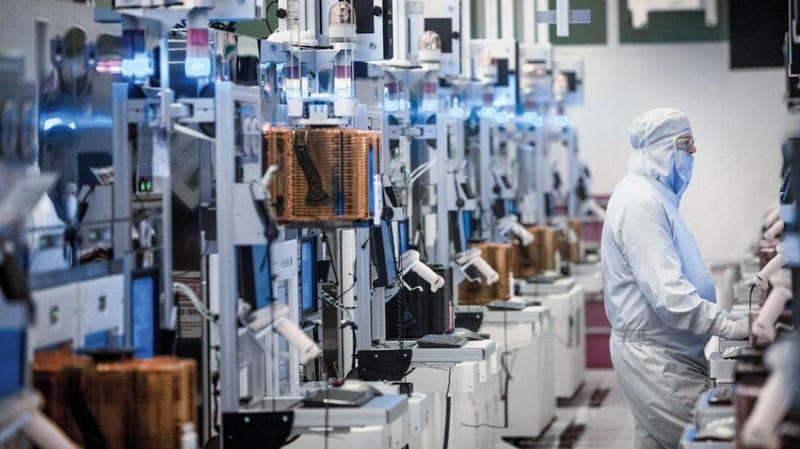proceso fabricacion procesadores intel