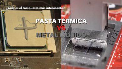pasta térmica vs metal líquido