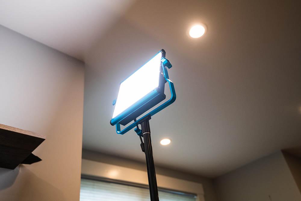 iluminación webcam