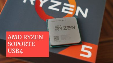 mejora soporte amd ryzen interfaz usb4