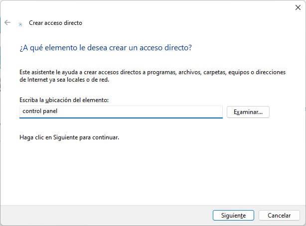 Cómo abrir el Panel de control en Windows 11