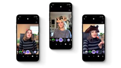 EpocCam filtros Snap Lenses
