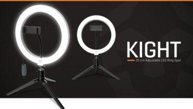 Krom Kight anillo LED