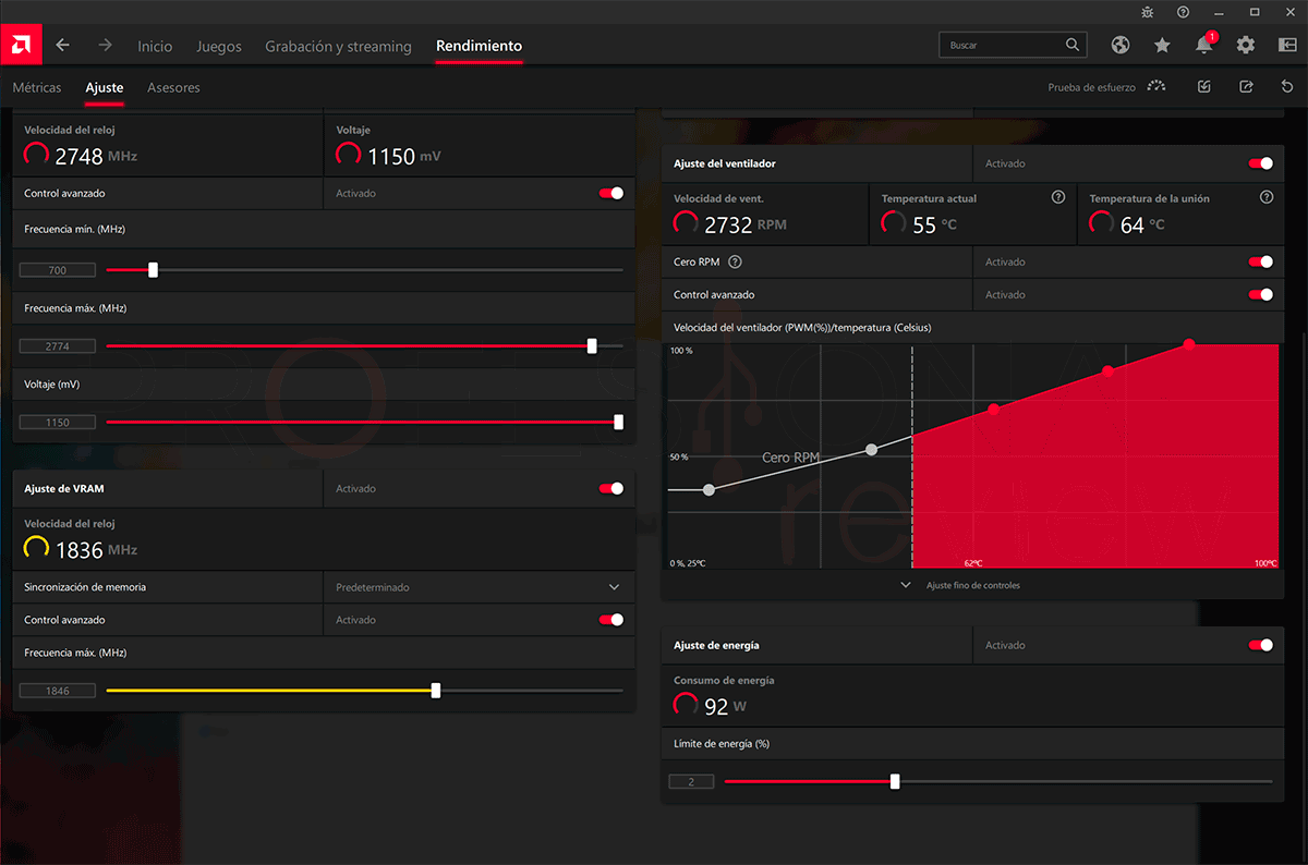 AMD Radeon RX 6600 Overclocking