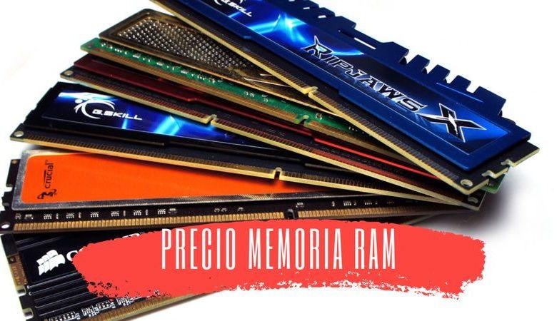bajada precio memoria ram stock